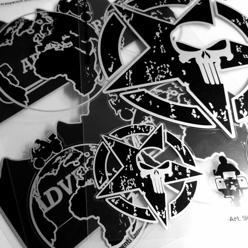 Adesivi Adventure Stickers per Bauletti Moto gamma prodotti