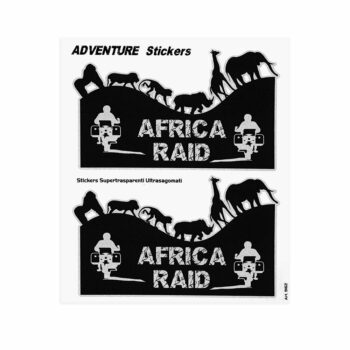 Adesivi Adventure Stickers per Bauletti Moto Africa Raid