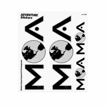 Adesivi Adventure Stickers per Bauletti Moto MOA