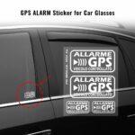 Adesivi Allarme GPS Veicolo Controllato