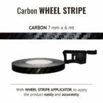 Wheel Stripe Carbon Race 7 mm con Applicatore