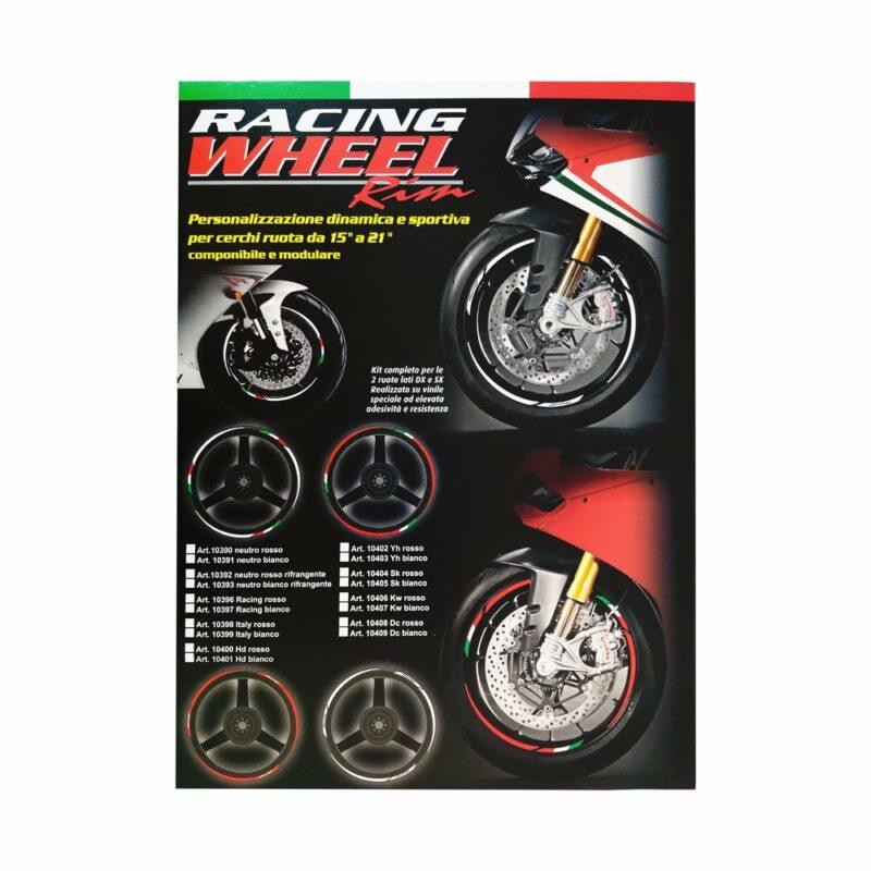 Wheel Rim Kit Componibile Italia 24 pz cartoncino