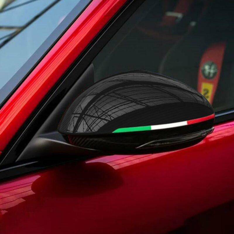 Bandierine tricolore Italia dettaglio