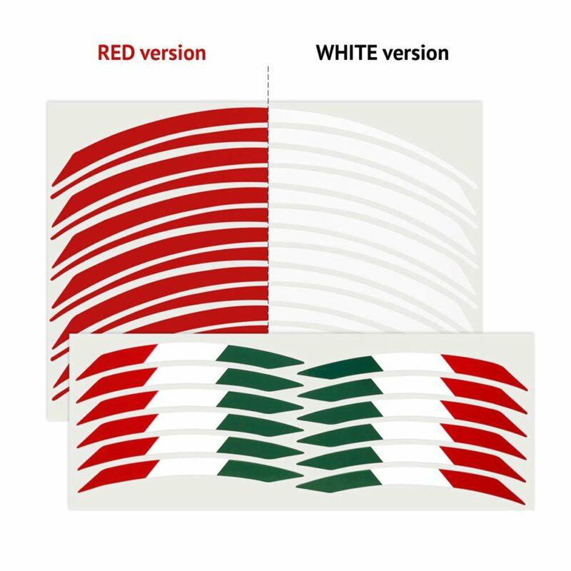 Wheel Rim Kit Componibile Italia 24 pz gamma colori