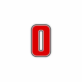 """Numero """"0"""" Sic Rosso"""