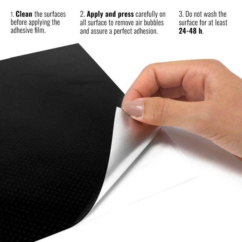pellicola adesiva per wrapping carbonio high temperature istruzioni