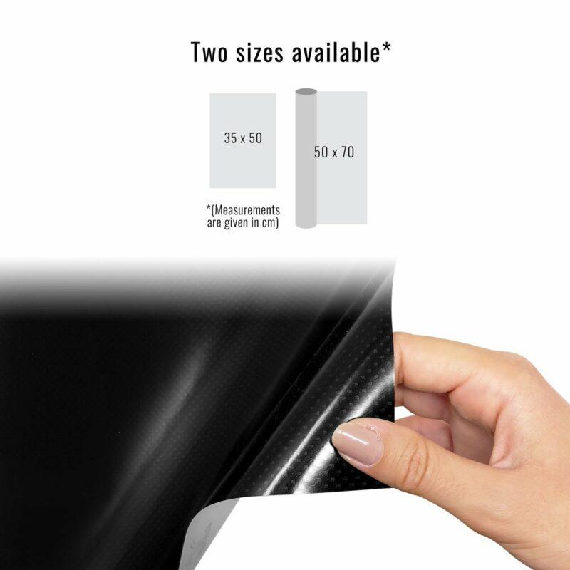 pellicola adesiva per wrapping carbonio high temperature dimensioni