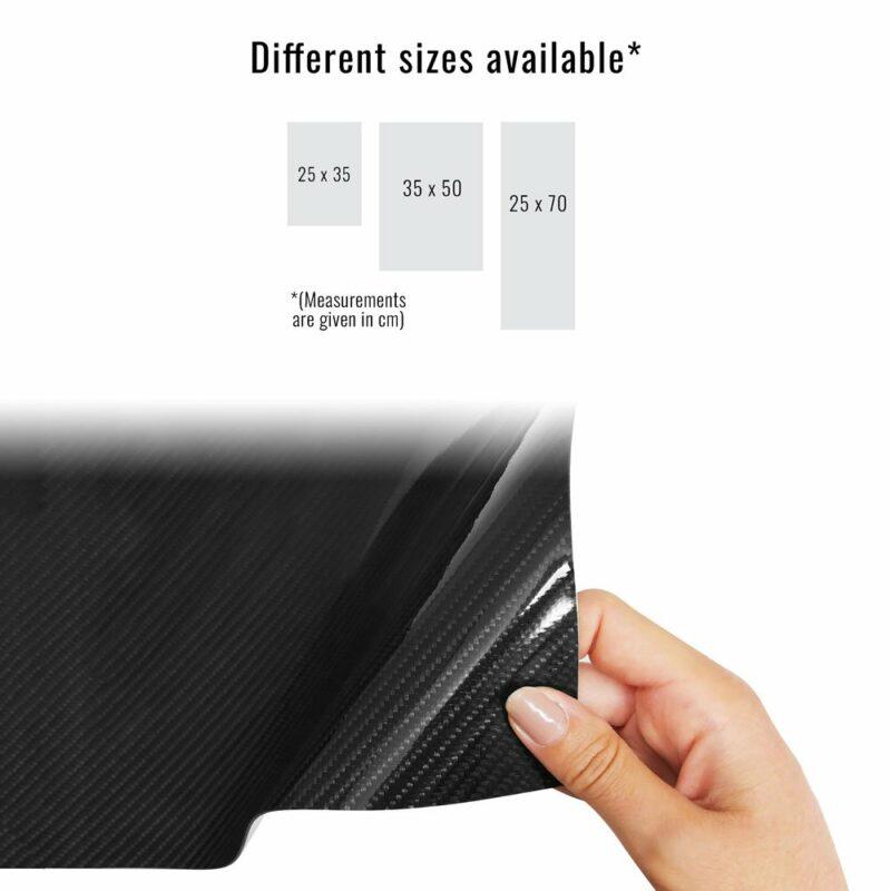 pellicola adesiva per wrapping carbonio vera fibra dimensioni