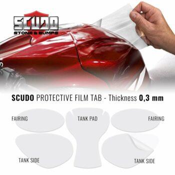 Kit Adesivo Protezione Carene Moto Scudo Tab