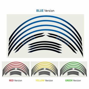 Wheel Rim Kit Componibile gamma colori