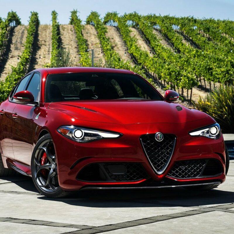 Bandierina 3D tricolore Italia per specchietti Alfa Giulia