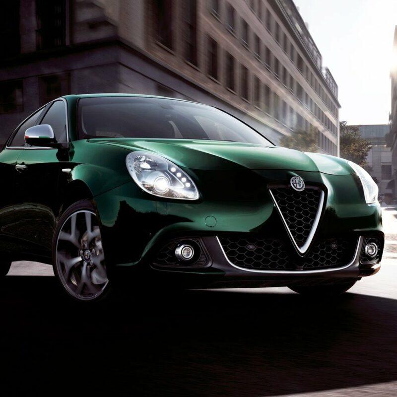 Bandierina 3D tricolore Italia per specchietti Alfa Giulietta