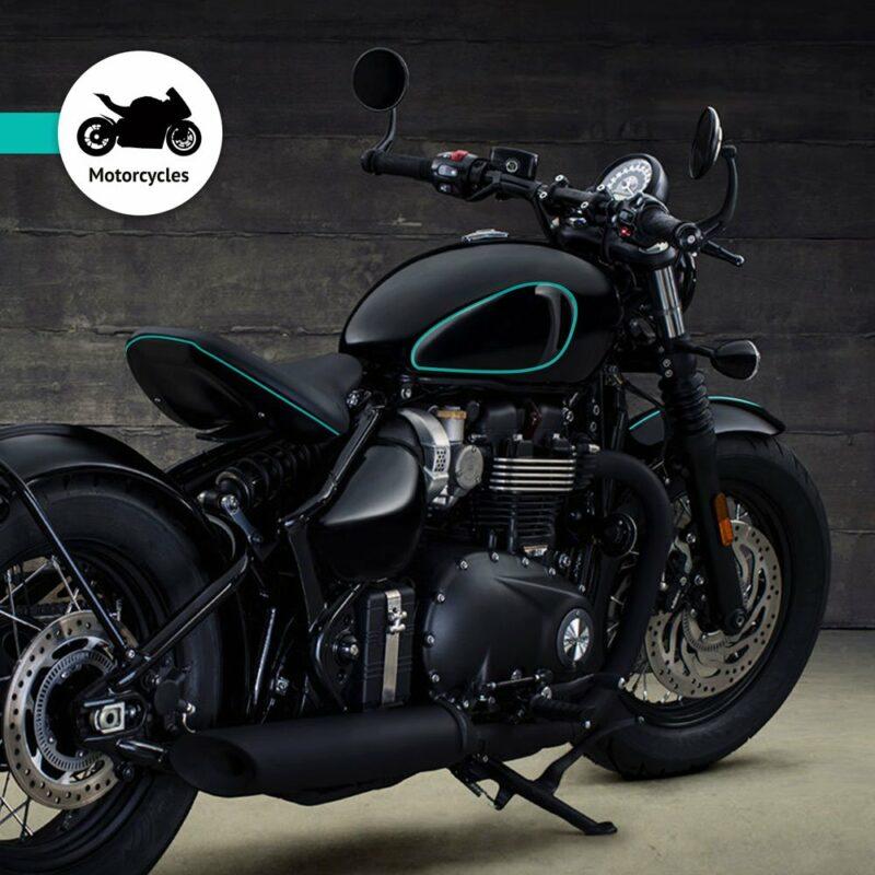 Trim Stripe Strisce Adesive per Auto, Verde Petronas Applicazione Moto