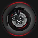 Wheel Rim Kit Componibile rosso