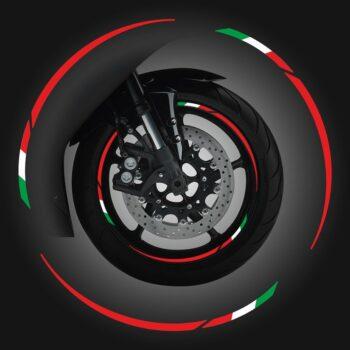 Wheel Rim Kit Componibile Italia 24 pz rosso