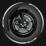 Wheel Rim Kit Componibile Racing 24 pz bianco
