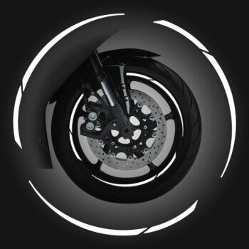 Wheel Rim Kit Componibile 24 pz bianco
