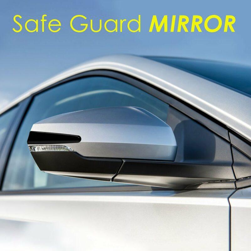 Profili Protettivi Adesivi Salvaspecchio 3D Mirror applicazione