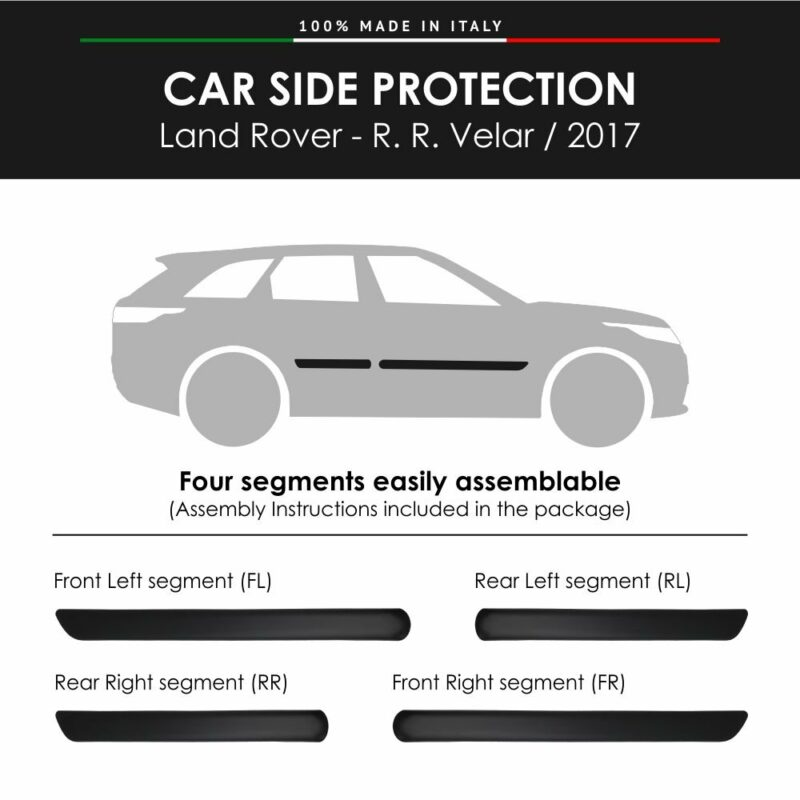 Modanatura Land Rover R.R. Velar