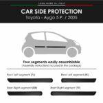 Modanatura Toyota Aygo 5 Porte