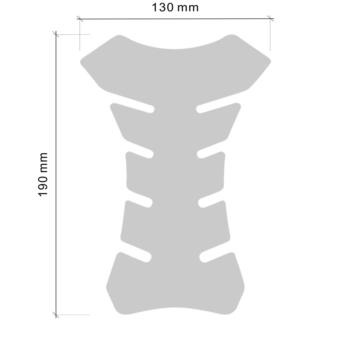 Protezione Serbatoio Adesiva 3D Colors misure
