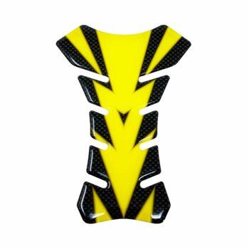 Protezione Serbatoio Adesiva 3D Colors giallo