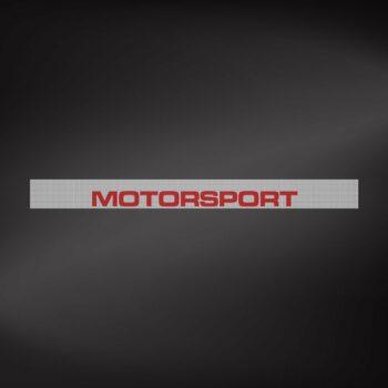 Fascia Parasole per Parabrezza Effetto FiltraVedo One Way Motorsport