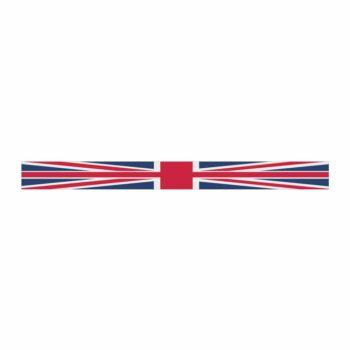 Fascia Parasole per Parabrezza Bandiera Inghilterra