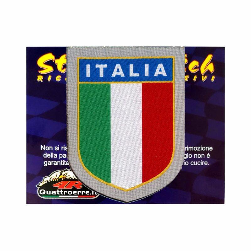 Patch Adesiva Scudetto Italia cartoncino