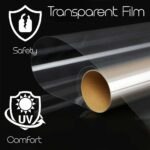 Pellicola Protettiva Trasparente per Vetri Auto