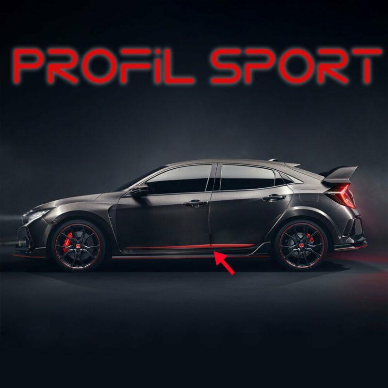 Profili Sportivi Racing Universali applicazione