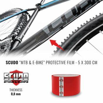 pellicola protettiva telaio bici 5 x 300 cm