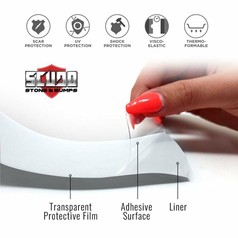 pellicola protettiva telaio bici componenti del materiale