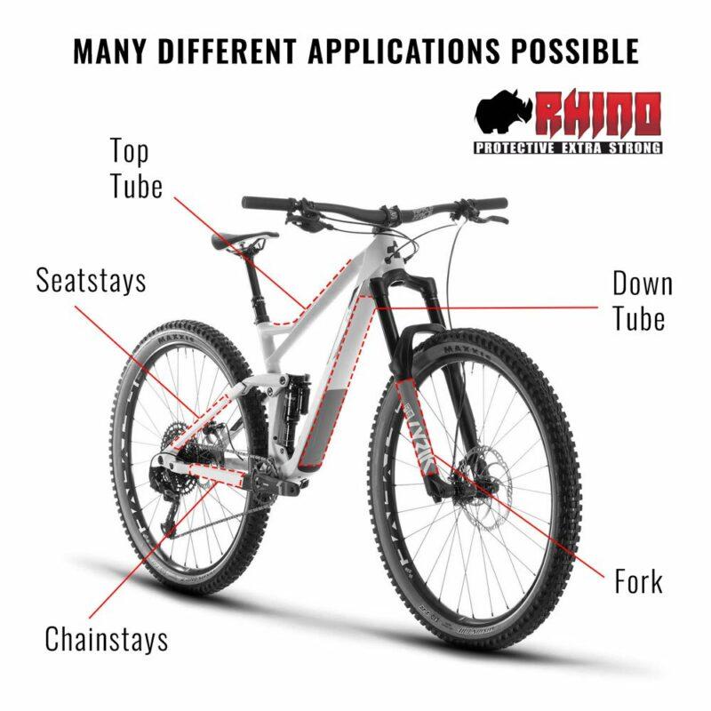 Kit Adesivo Protezione Telaio Bicicletta MTB Rhino