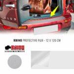 Protezioni per Soglie Baule Auto Rhino, 120 x 12 cm Trasparente