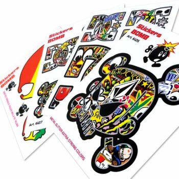 Adesivi Stickers Bomb 10 x 12 cm