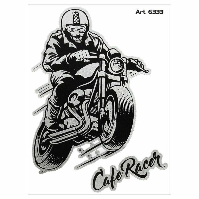 Adesivi Stickers Cafe Racer 10 x 12 cm