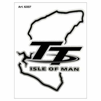 Adesivi Stickers Circuito Tourist Trophy 10 x 12 cm