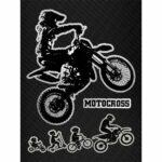 Stickers-Evolution-Biker-Cross-10x12cm-B