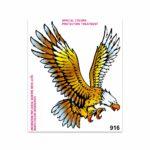 Adesivi Stickers Giganti Aquila 24 x 20 cm