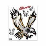Adesivi Stickers Giganti Aquila Tribale 24 x 20 cm