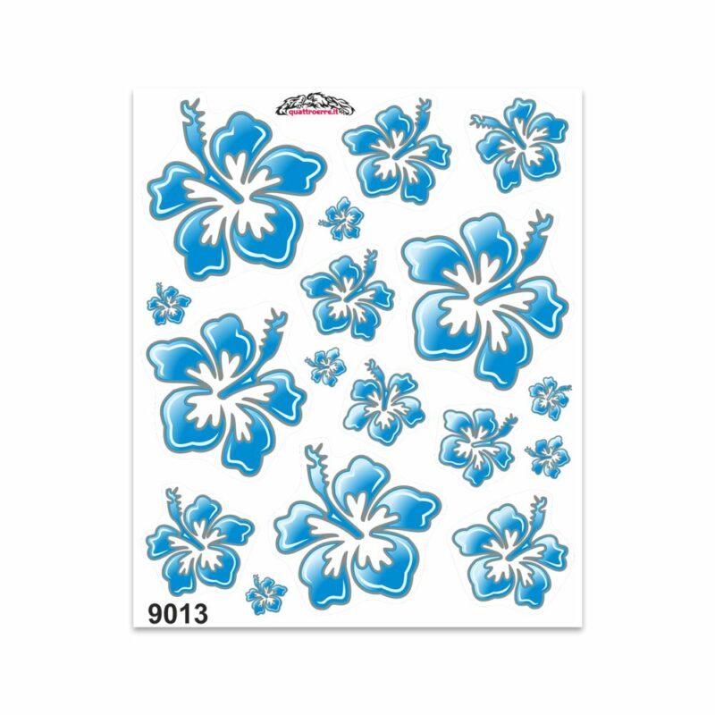 Adesivi Stickers Giganti Fiori 24 x 20 cm