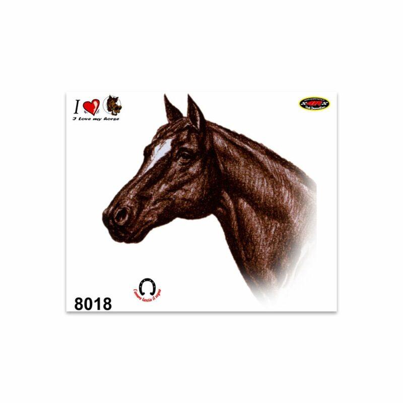 Adesivi Stickers Medi Cavallo 13,5 x 16 cm