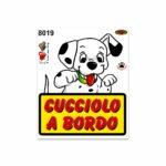 Adesivi Stickers Medi Cucciolo a Bordo 13,5 x 16 cm
