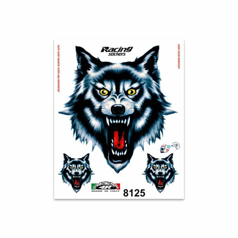 Adesivi Stickers Medi Lupo 13,5 x 16 cm