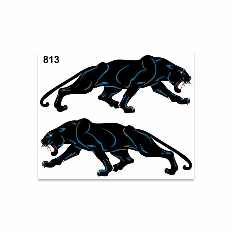 Adesivi Stickers Medi Pantera 13,5 x 16 cm