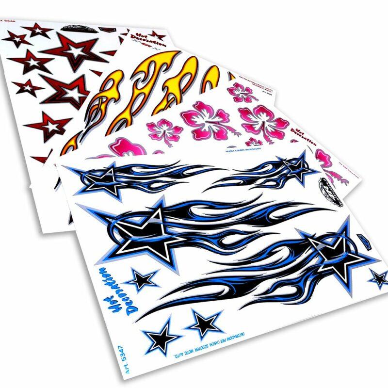 Adesivi Stickers Midi 35 x 25 cm