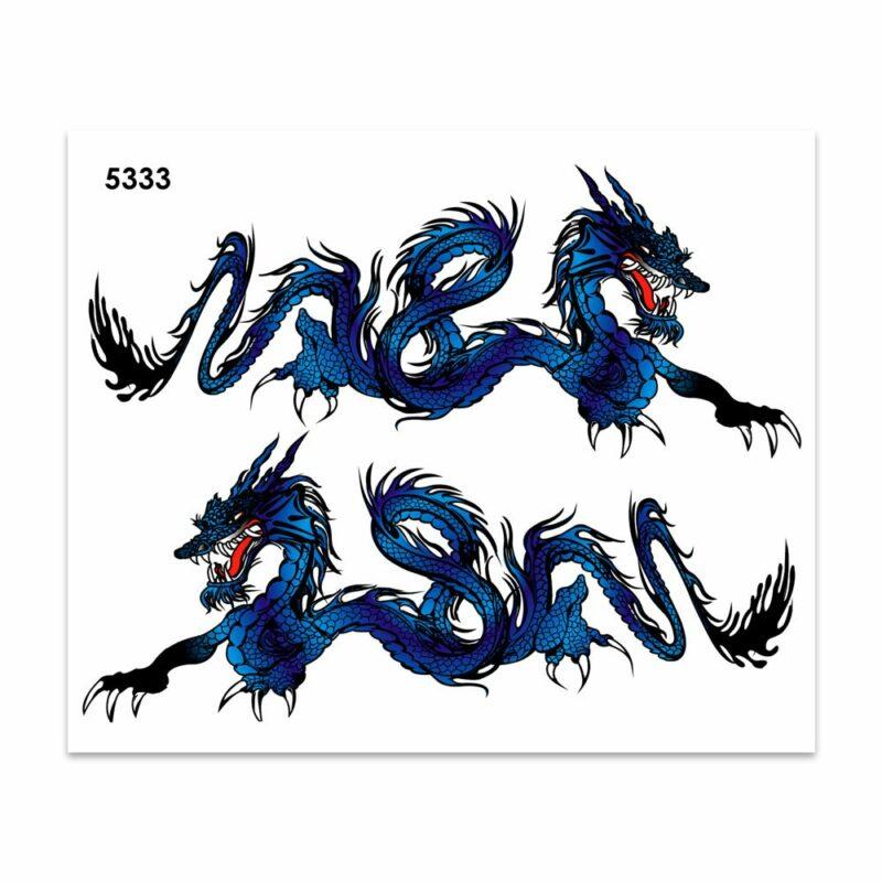 Adesivi Stickers Midi Drago 35 x 25 cm