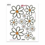 Adesivi Stickers Midi Margherite 35 x 25 cm