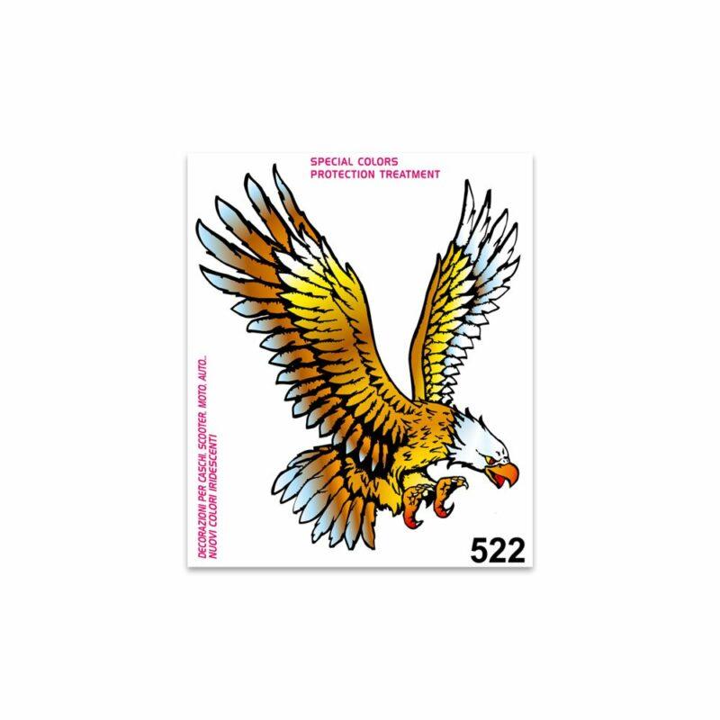 Adesivi Stickers Standard Aquila 10 x 12 cm